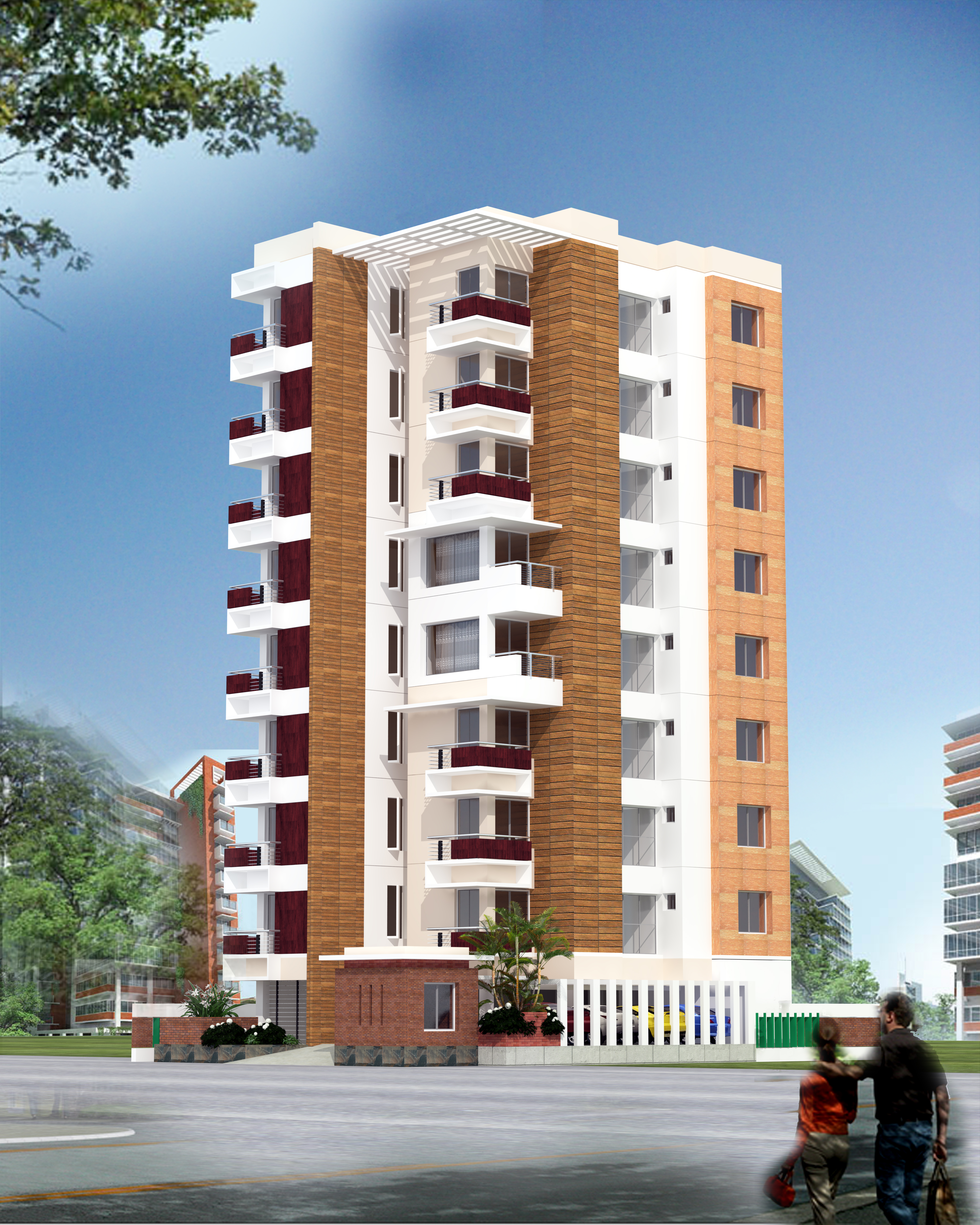 Image gallery residential building for Bangladeshi building design